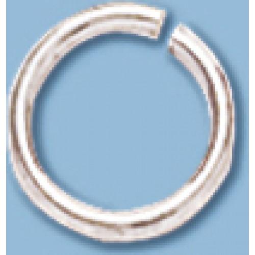 7mm 18GA Open Jump Ring S/S 3