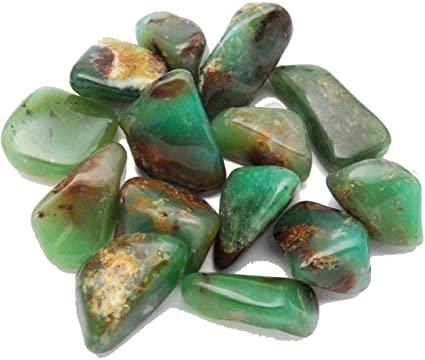 chrysoprase, chrysophrase tumbled stone