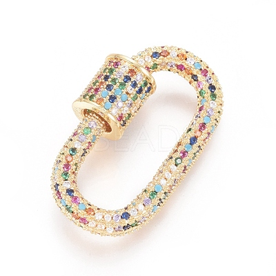 carabiner clasp gold plated