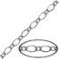 silver plated curb chain